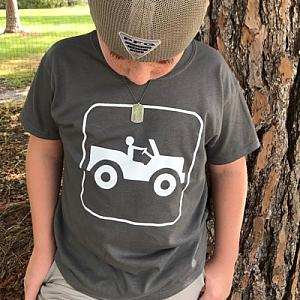 Jeep Guy Sign Children's T-Shirt