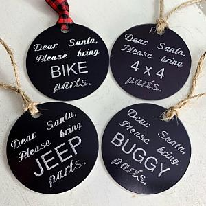 Jeep Christmas Ornament - Jeep Parts 4x4