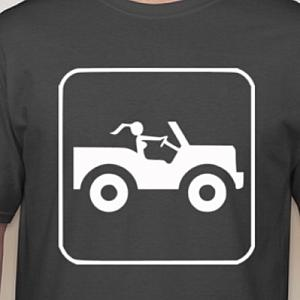 Jeep Girl Sign T-Shirt