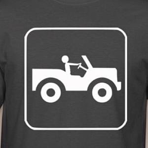 Jeep Guy Sign T-Shirt
