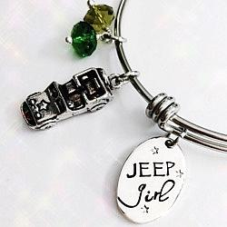 Jeep Girl Bangle Bracelet