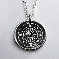 Jeep Compass - Wax Seal Necklace