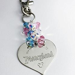 Please Return To Disneyland Purse Charm