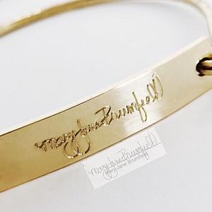 Gold Bar - Signature Bracelet