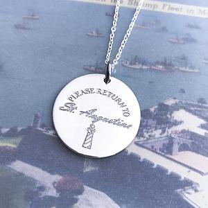 Please Return To St. Augustine - Travel Necklace