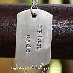 Dog Tag Necklace - Personalized Custom Dog Tags