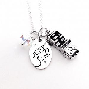 Jeep Girl Necklace