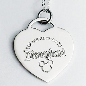 Please Return To - Heart Necklace
