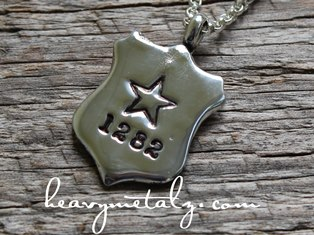 Got Your Number - Law Enforcement Officer Silver Pendant
