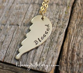 Angel Wing Necklace - Golden